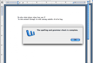 Grammar errors not highlighted by grammar software