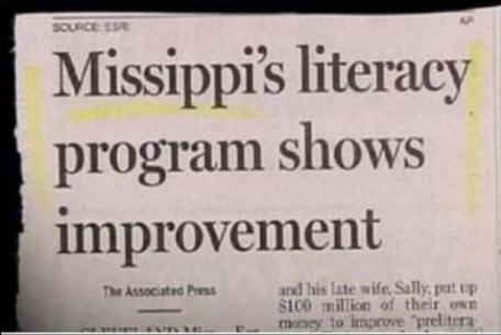 Mississippi spelt incorrectly