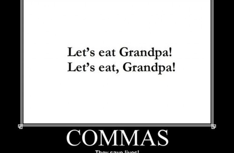 A Humorous Look at The Importance of Punctuation