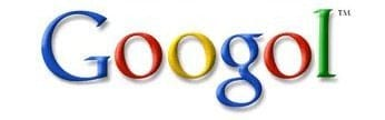 How the Google logo would have looked without a spelling error