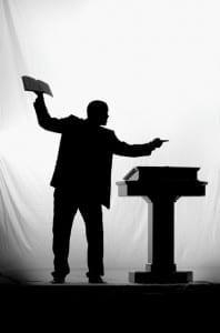 Picture of a preacher