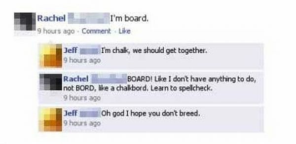 "Misspelled ""board"