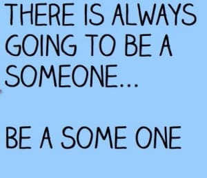 are you a someone or a some one?