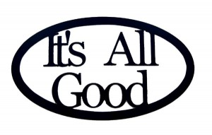 "What are phrases in a sentence? ""It's all good."""