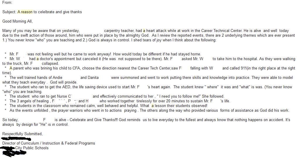 grammar letter: