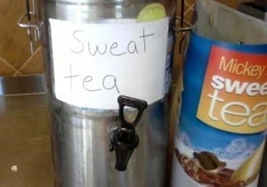 Mcdonald's sell sweat tea