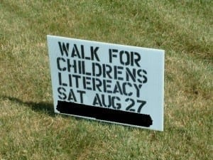 "Unforgivable spelling mistake where ""literacy"" is spelt ""litereacy"""