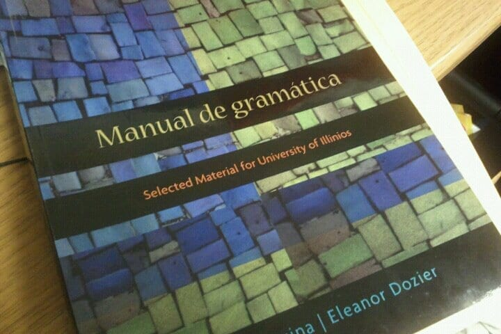 Grammatical handbook is misspelt