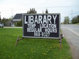 "Unforgivable spelling mistakes: the word ""library"" is misspelt"