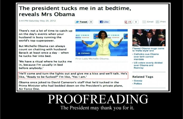 Online proofreading and editing ltd