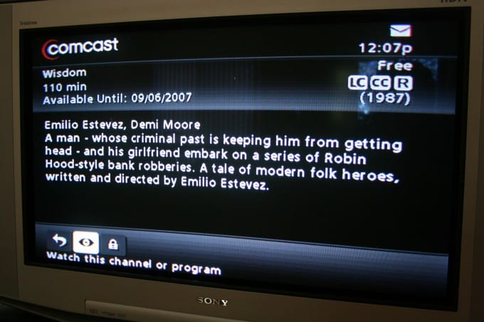 Serious misspelling of a television show description