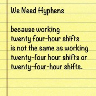 When to Hyphenate Numbers
