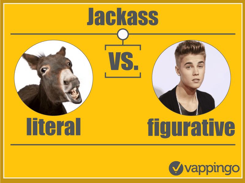 Literal versus figurative funny