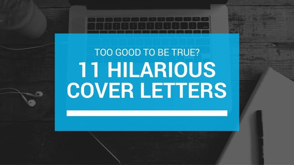 Hilarious cover letter examples