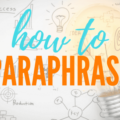 How to Paraphrase in Six Super-Simple Steps