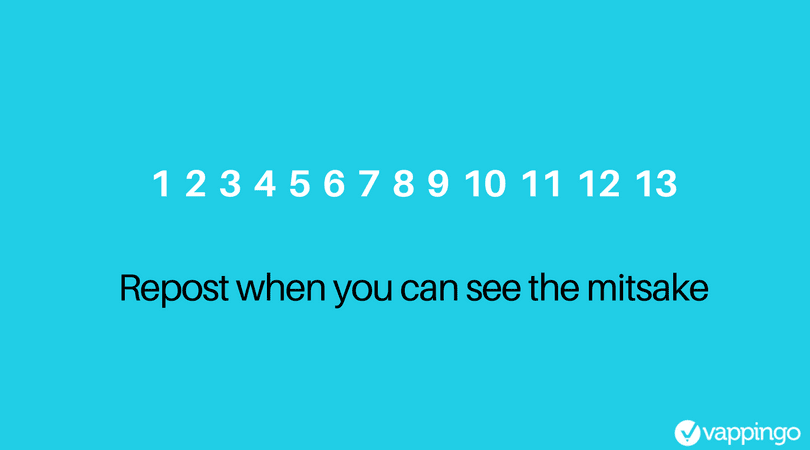 "Text reads: ""can you spot the mistake?"""