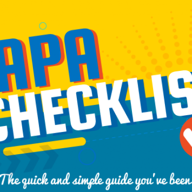 APA Checklist: A Definitive Guide to APA Rules