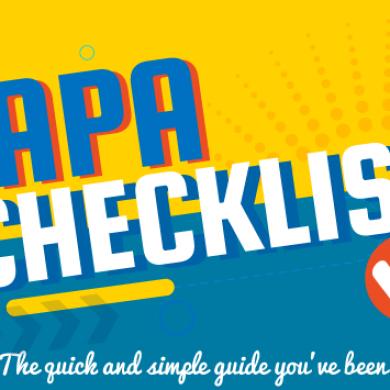APA Checklist: A Definitive Guide to APA Rules